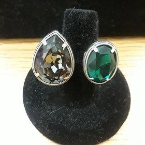 Brighton amethyst and emerald ring 7